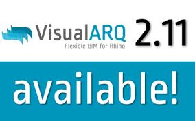 ¡Lanzamiento de VisualARQ 2.11!